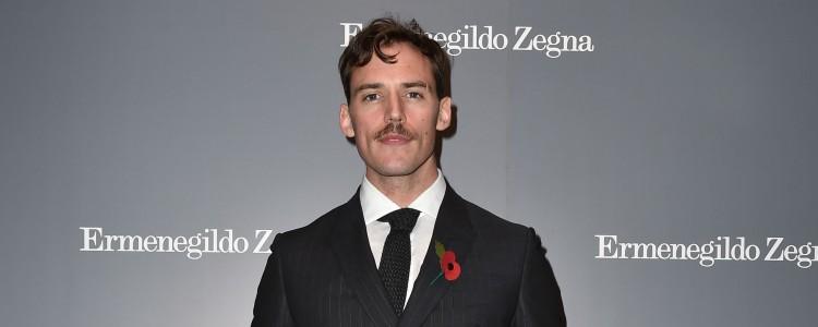 GALERIA: Sam Claflin na Inauguração da nova loja de Ermenegildo Zegna em Londres