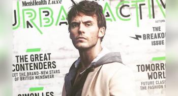 Sam Claflin está na capa da edição de Outono/Inverno da Urban Active